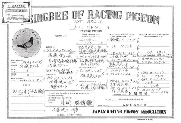 メイ・ストーム1300Kの青森の佐藤和尚さまが毎年命日と8月10日ハトの日には供養してくださいます。
